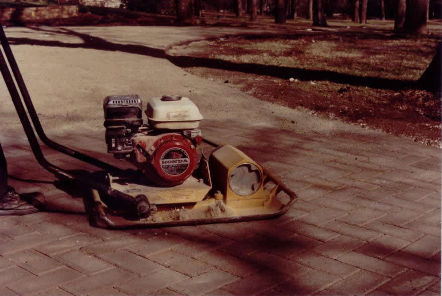 vibrating pavers